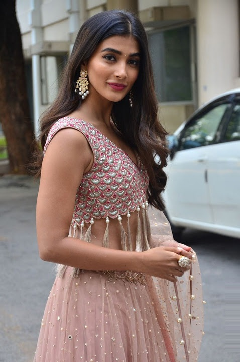 Pooja hegde sakshyam motion poster launch photos