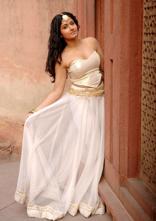Poonam bajwa white dress cute wallpaper