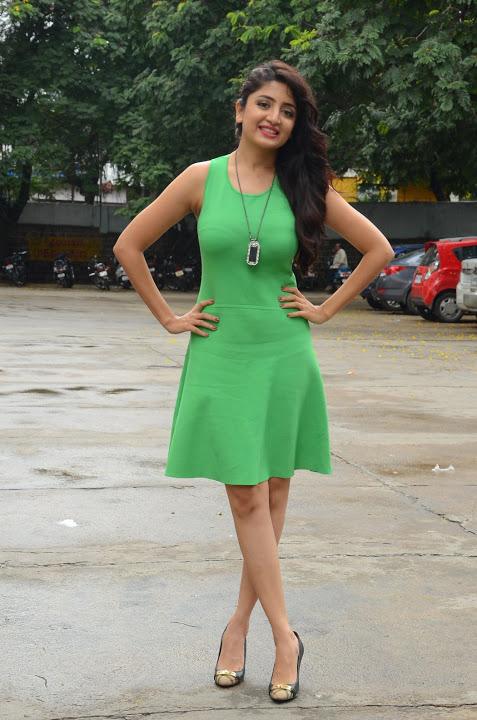 Poonam kaur green dress press meet slide show