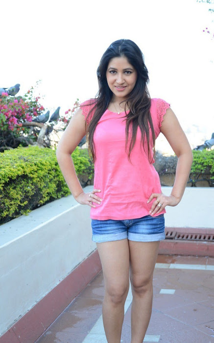 Prabhjeet kaur pink dress photoshoot stills