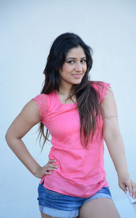Prabhjeet kaur pink dress smile pose pics