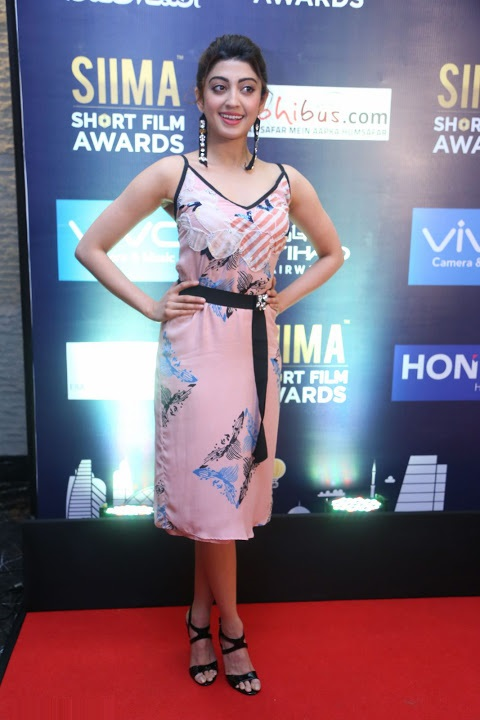 Pranitha subhash siima short film award photos