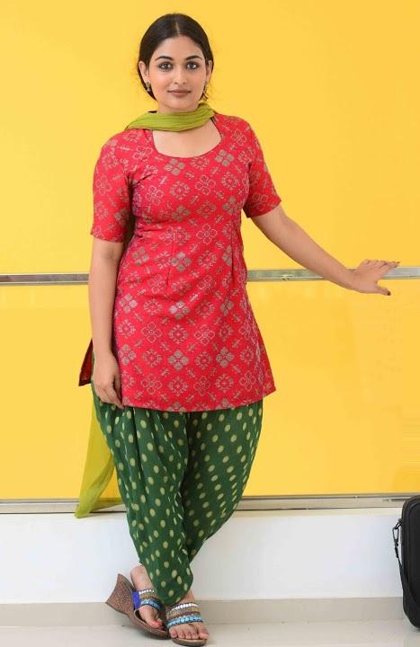 Prayaga martin red dress filmfare awards pics