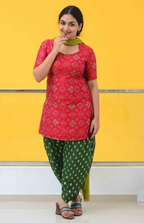 Prayaga martin red dress interview gallery