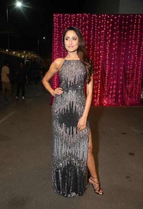Pragya jaiswal fashion black dress image