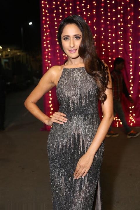 Pragya jaiswal wide black dress photos