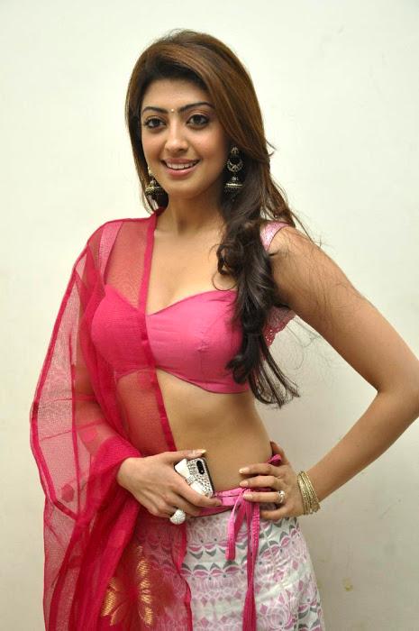Pranitha hot red dress cute stills