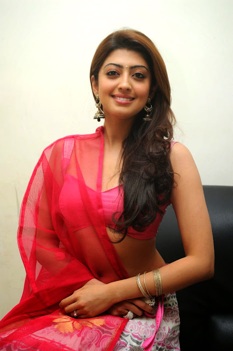 Pranitha subhash half saree figure wallpaper