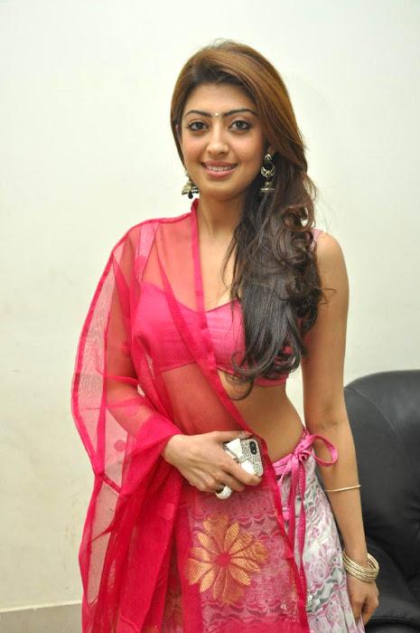 Pranitha subhash half saree unseen gallery