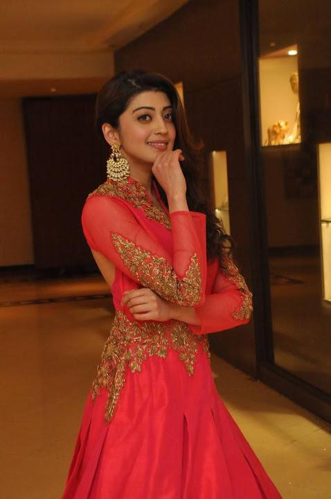 Pranitha subhash red dress exclusive photos