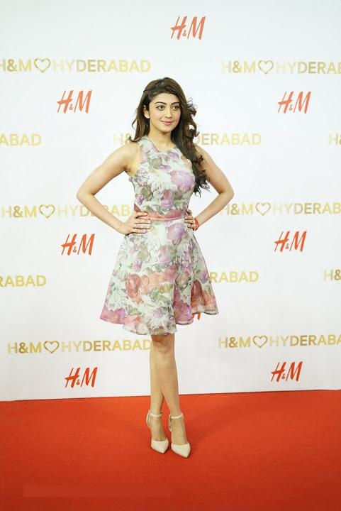 Pranitha subhash white dress modeling photos