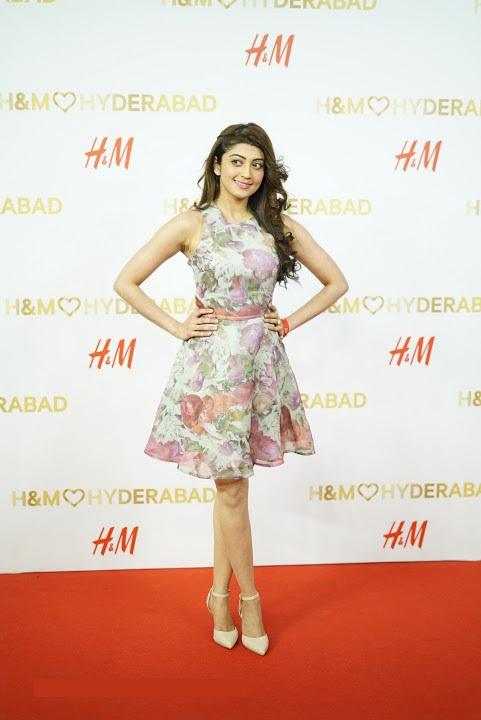 Pranitha subhash white dress press meet photos
