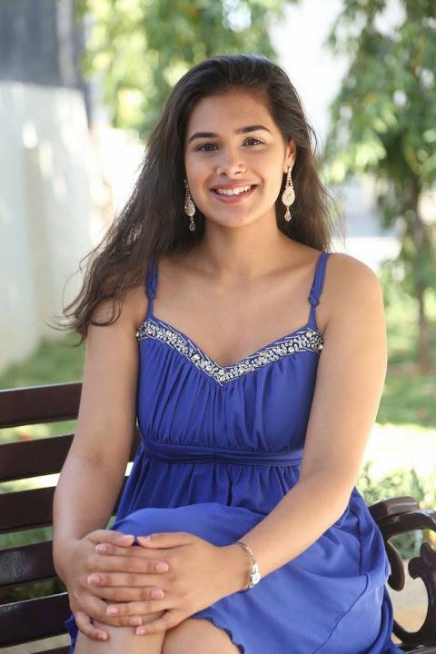 Prasanna blue dress photoshoot stills