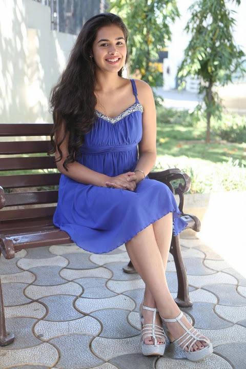 Prasanna blue dress slide show
