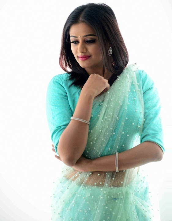Priya mani light blue saree computer pictures