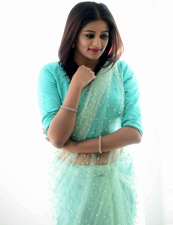 Priya mani light blue saree heroine pics